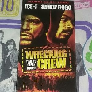 2000 The Wrecking Crew VHS Movie Vintage Ice T